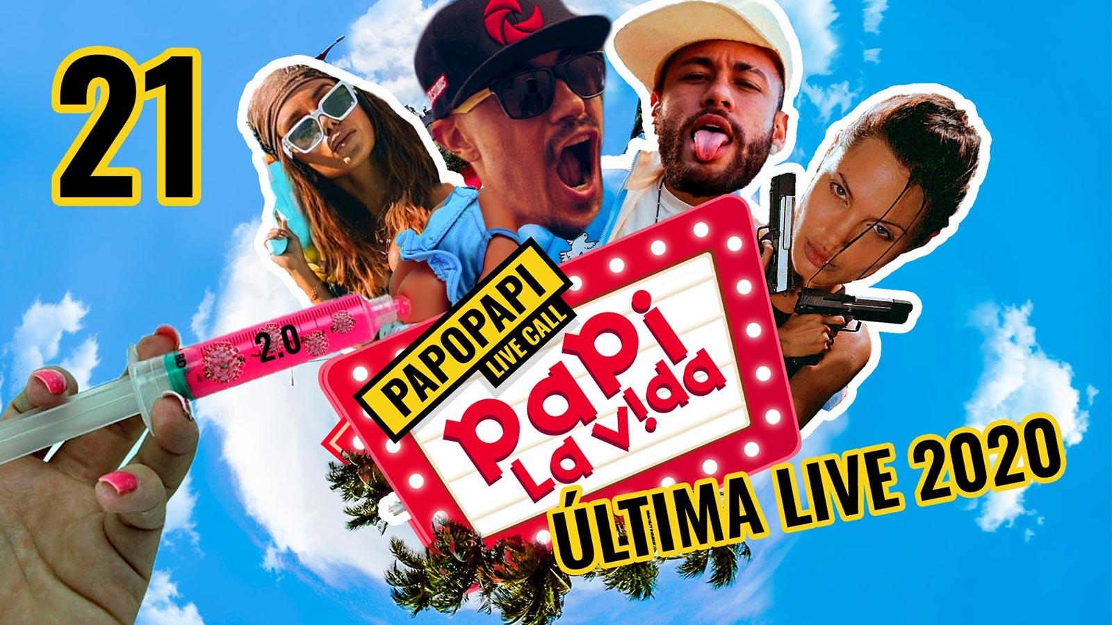 Ultima Live 2020: Vacina, Neymar, Anitta, Femicidio e Alienigenas